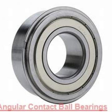 95 mm x 170 mm x 32 mm  FBJ QJ219 angular contact ball bearings