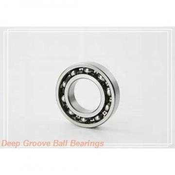 75 mm x 180 mm x 82 mm  SNR UK317+H deep groove ball bearings