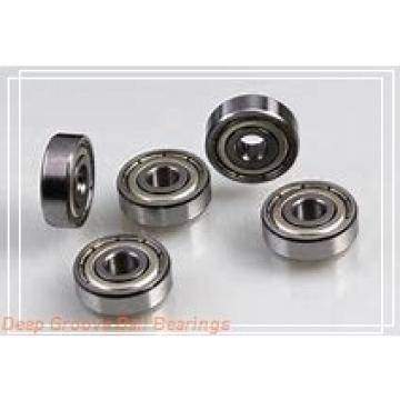 360 mm x 480 mm x 56 mm  KOYO 6972 deep groove ball bearings